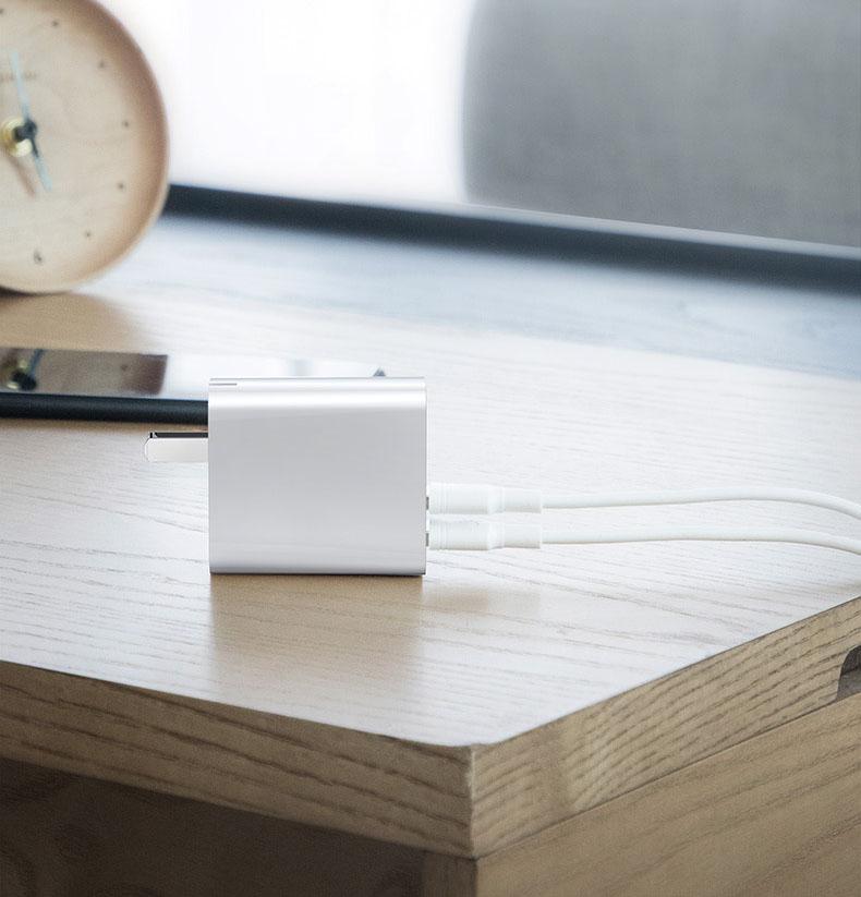 Củ sạc nhanh điện thoại 30w chính hãng baseus dùng điện ở nhà