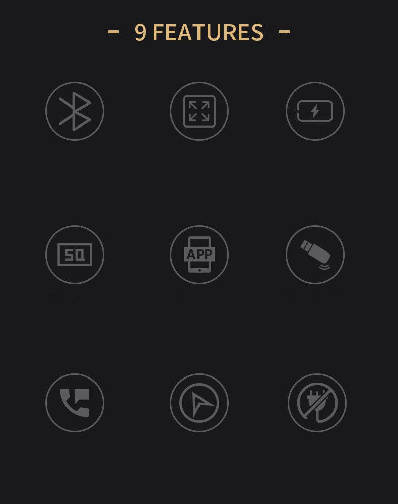 Tẩu nghe nhạc bluetooth Mp3 Hyundai C21, 2 cổng usb, 1 cổng type C