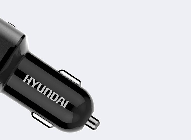 Tẩu sạc nhanh chia điện ra  2 cổng usb chính hãng Hyundai