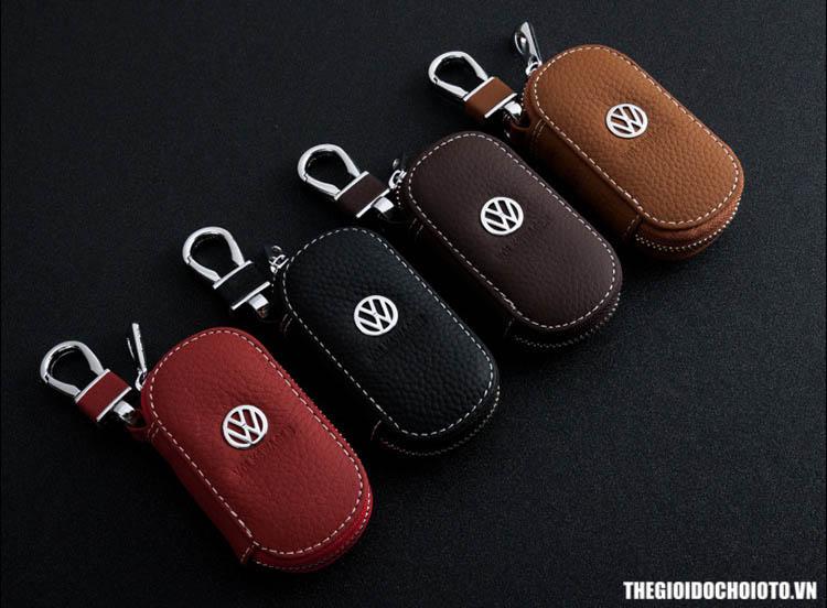 Bao da chìa khóa ô tô có khóa kéo toyota, honda, kia, hyundai, mazda, ford (mẫu 2)