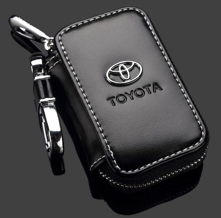 Bao da chìa khóa ô tô có khóa kéo