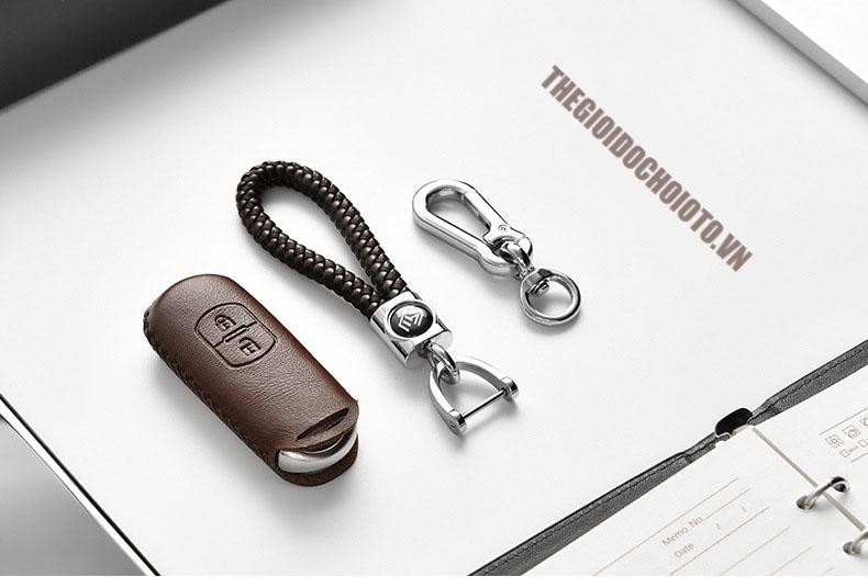 Bao da chìa khóa ô tô Mazda CX5, Mazda 3, Mazda 6