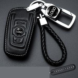 Bao da chìa khóa ô tô BMW  ( mẫu 2 )