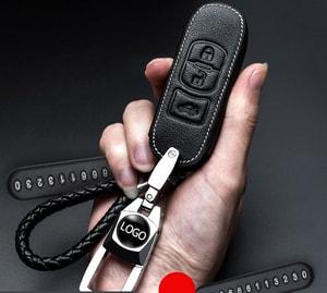 Bao da chìa khóa ô tô Mazda ( mẫu 10 )