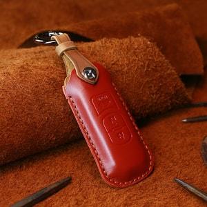 Bao da chìa khóa ô tô Mazda CX5, Mazda 3, Mazda 6 (mẫu 9)