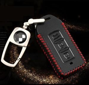 Bao da chìa khóa ô tô Mitsubishi( mẫu 1 )