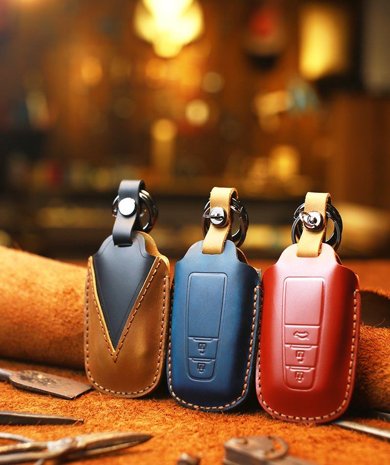 Bao da chìa khóa ô tô Toyota Camry ( mẫu 2 )