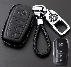 Bao da chìa khóa ô tô Toyota ( mẫu 10 )