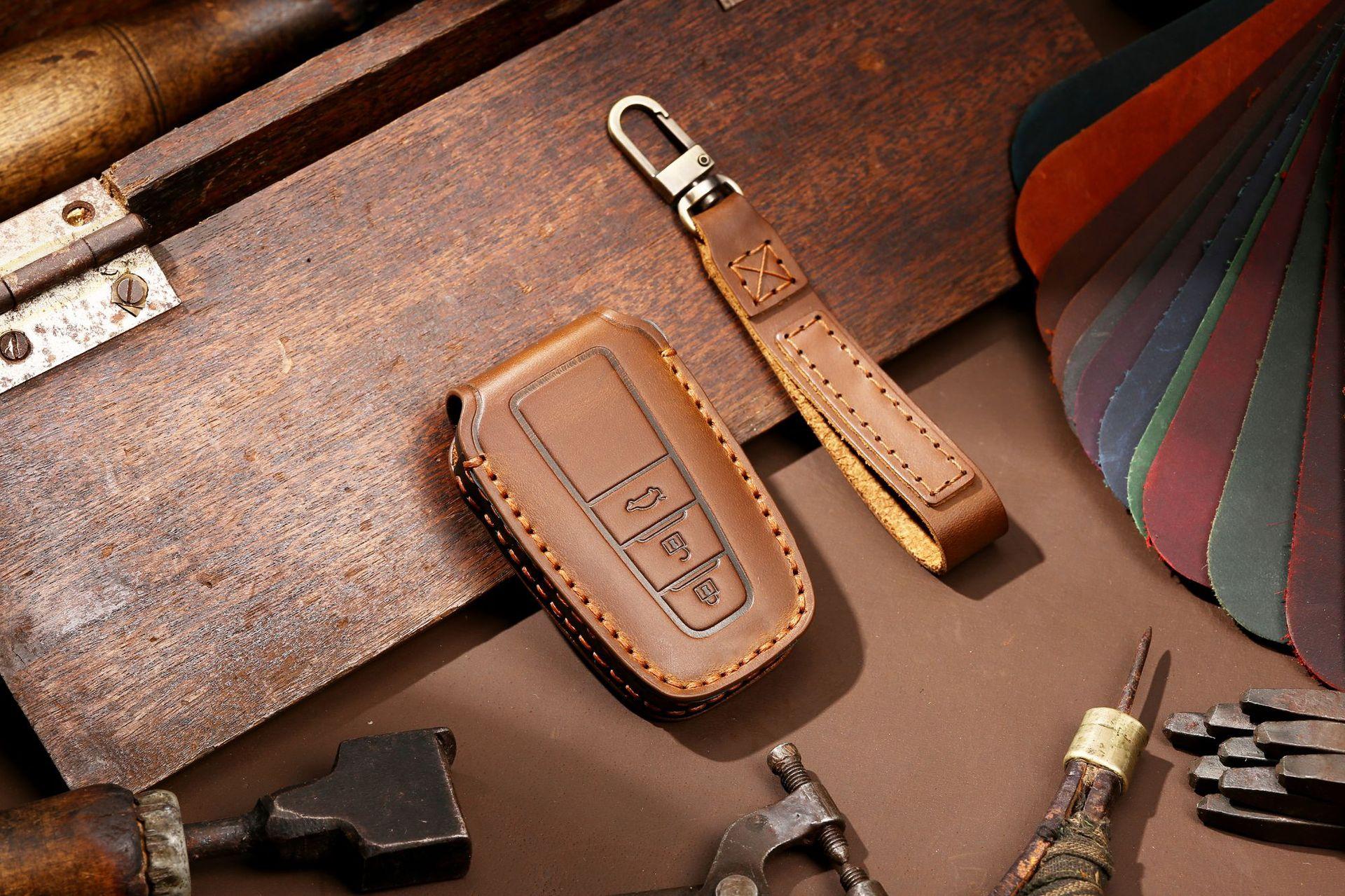 Bao da chìa khóa Toyota  ( mẫu 9 )