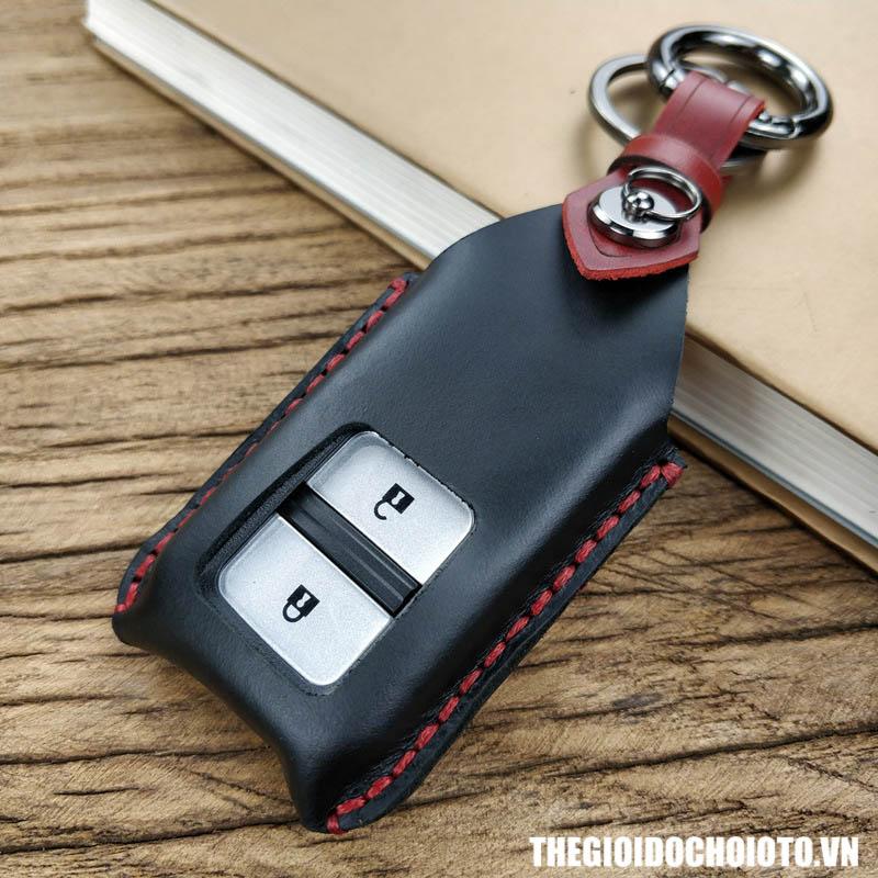 Bọc chìa khóa ô tô Honda CRV, bao da chìa khóa Honda CRV 2 nút