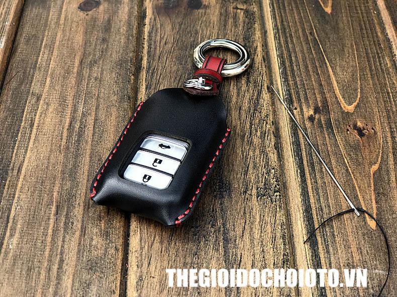 Bọc chìa khóa ô tô Honda City, bao da chìa khóa Honda City