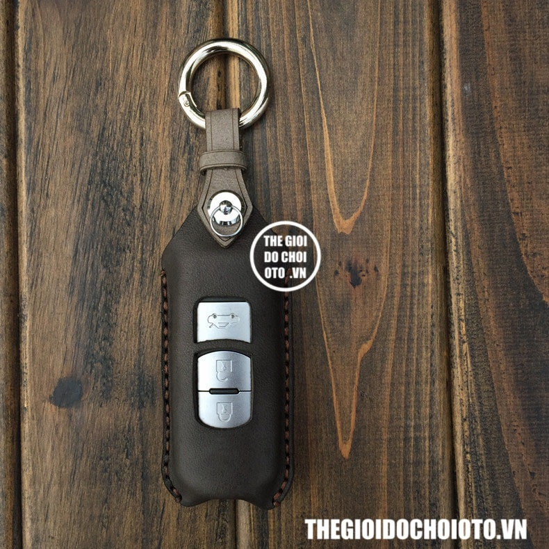 Bọc chìa khóa ô tô Mazda CX5, bao da chìa khóa Mazda CX5