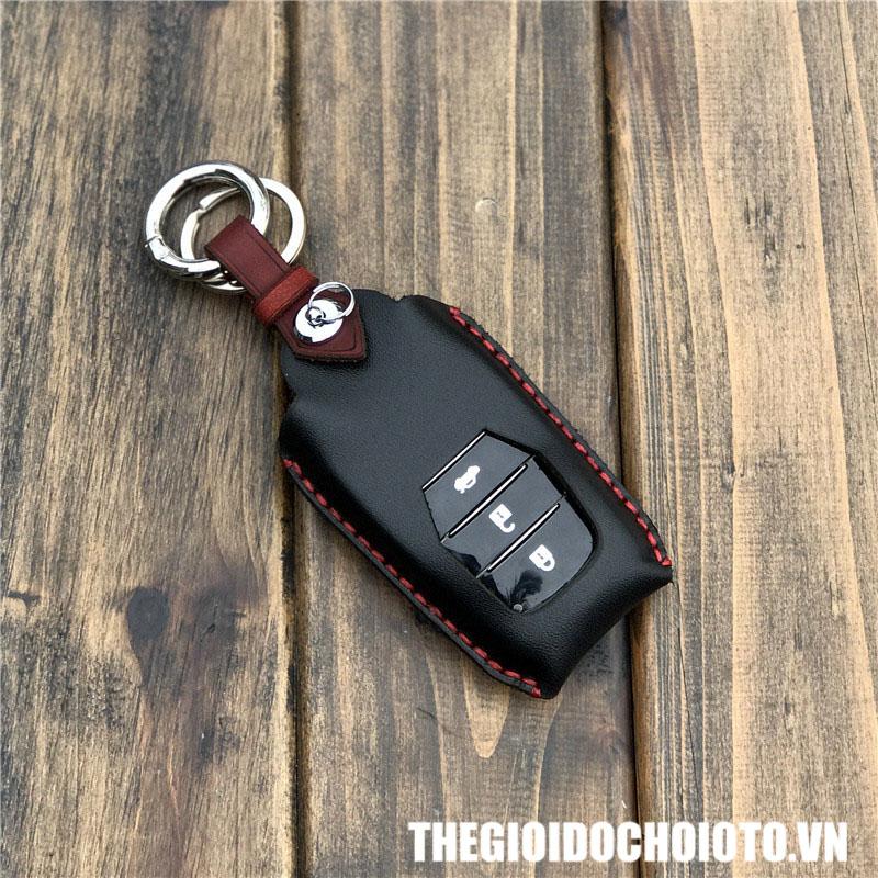 Bọc chìa khóa ô tô Toyota Camry, bao da chìa khóa Toyota Camry