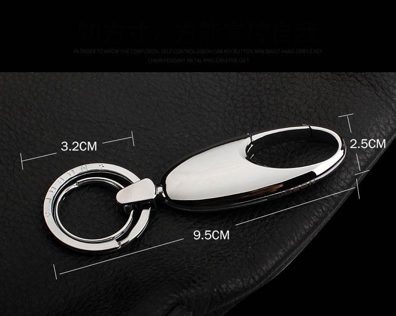 Móc chìa khóa ô tô cao cấp jobon (mẫu 22)
