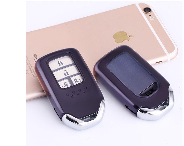 Ốp bao bọc chìa khóa Honda City, Honda CRV cao cấp TPU