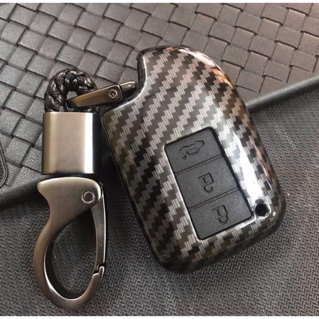 Ốp carbon chìa khóa xe Toyota Vios 2019