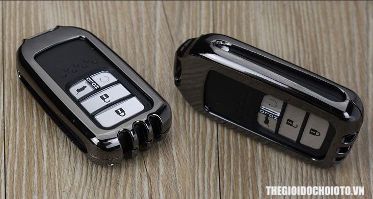 Ốp chìa khóa ô tô Honda kim loại cho Honda CRV, Honda City ...