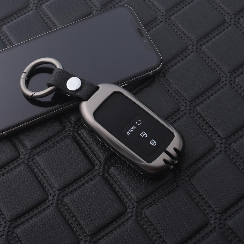 Ốp chìa khóa ô tô Honda kim loại cho Honda  ( mẫu 2 )