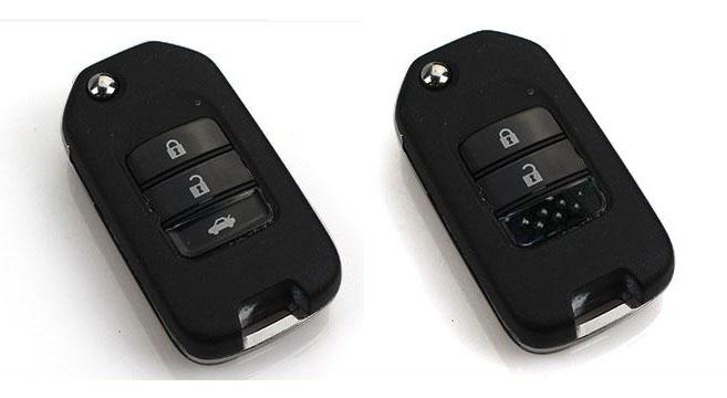 Ốp chìa khóa ô tô Honda dạng gập