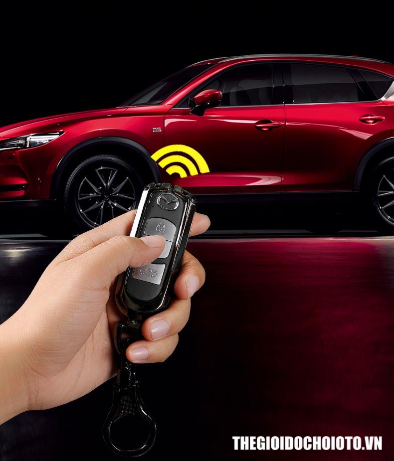 Ốp chìa khóa ô tô Mazda CX5, Mazda 3, Mazda 6, Bọc chìa khóa ô tô Mazda