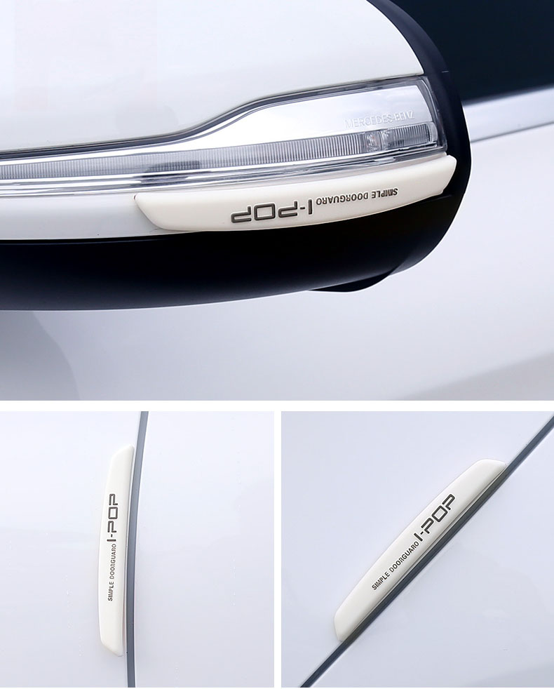 Bộ 6 miếng dán chống va đập cánh cửa ô tô ipod mềm ( Mẫu 15)