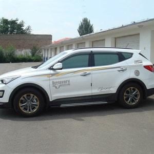 Bộ tem dán sườn xe ô tô suv thể thao Discovery Sport (ms-218)