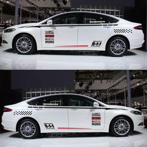 Bộ tem decal WRC 911 dán sườn xe ô tô ms-05