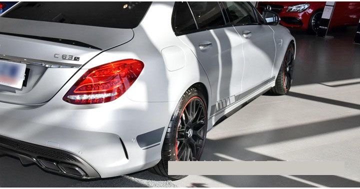 Dải decal dán 2 bên sườn xe trang trí ô tô ( ms-365)
