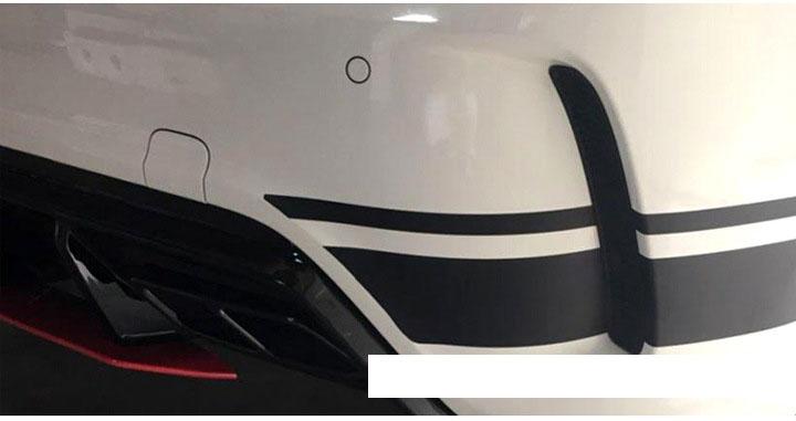 Dải decal dán trang trí sườn xe ô tô ( ms-369)