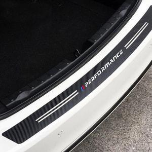 Dán Carbon cốp sau ô tô, bảo vệ chỗng xước trang trí ô tô MS-62