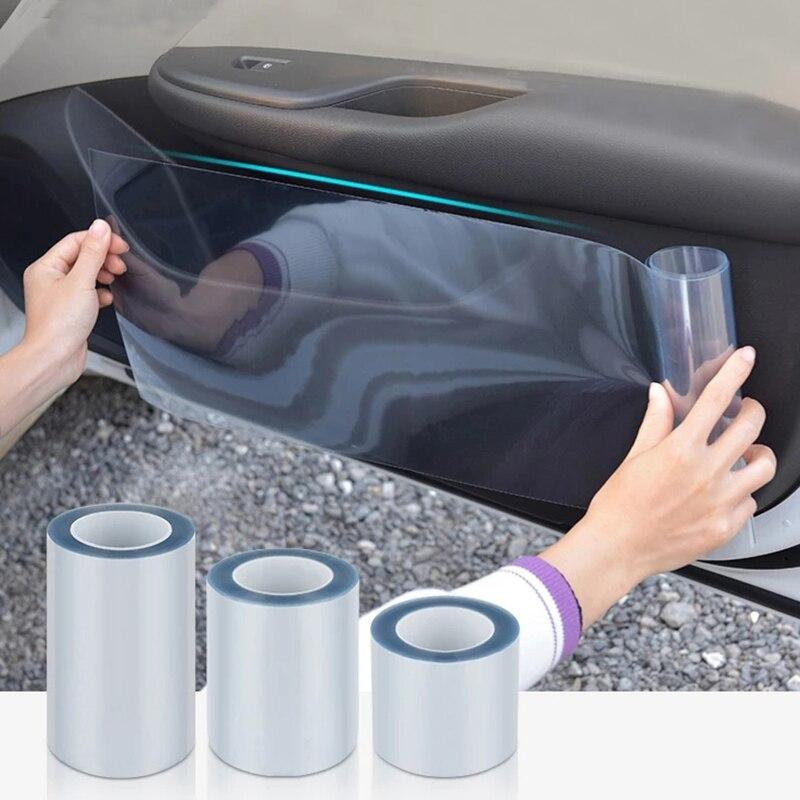 Decal phim dán trong suốt dán bảo vệ chống xước xe ô tô