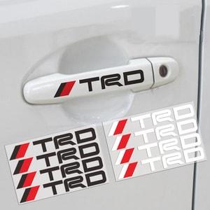 Tem TRD dán tay cửa xe ô tô (mẫu 2) MS-141