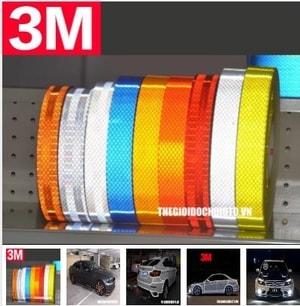 Decal Tem dán phản quang dán xe ô tô MS-53