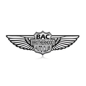 Logo đôi cánh thiên thần BAC BROTHERHOOD AUTO CLUP MS-119