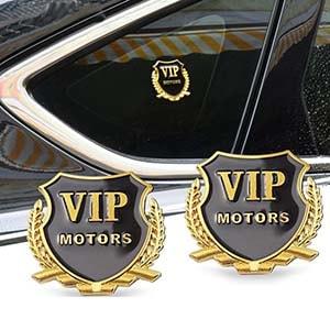 Logo Vip Motors dán xe ô tô MS-38