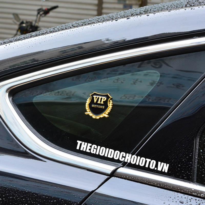 Logo Vip Motors dán xe ô tô