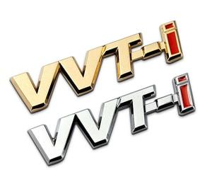 Logo chữ VVT-i dán xe ô tô MS-118