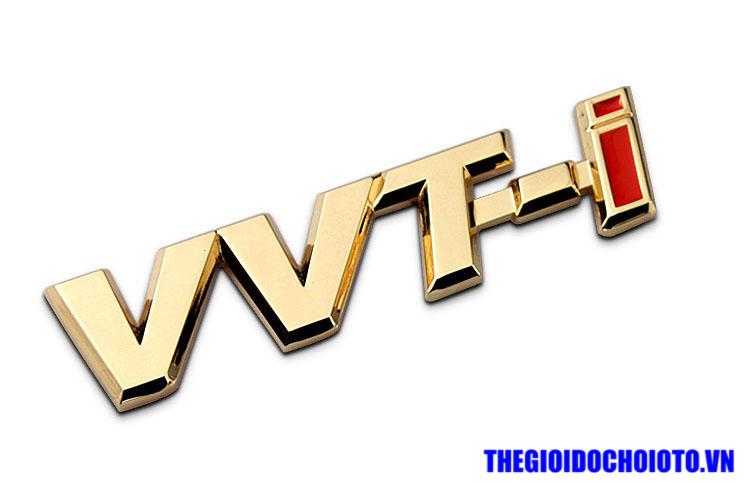 Logo VVT-i dán xe ô tô