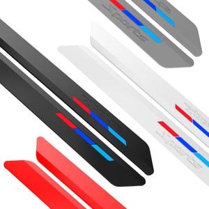 Miếng dán cao su dán đầu xe, đuôi xe ô tô, tránh va chạm, trang trí ô tô (mẫu 2) MS-57