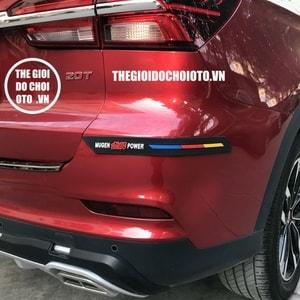 Miếng dán cao su dán đầu xe, đuôi xe ô tô, tránh va chạm, trang trí ô tô MS-56