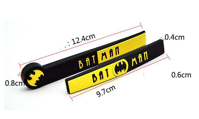 Miếng dán chống va đập cánh cửa ô tô Batman   (Mẫu 22)