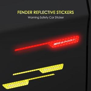 Miến tem phản quang dán sườn xe ô tô trang trí cảnh báo (mẫu 1) ms-303