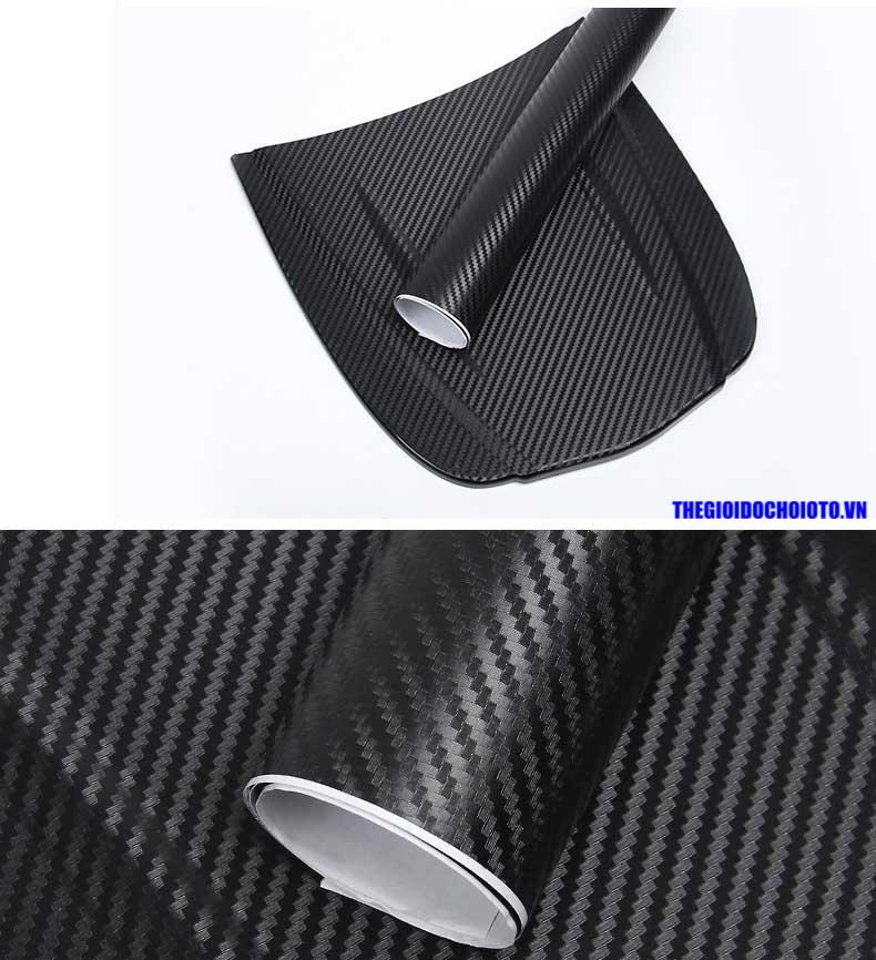 Phim decal carbon 3D dán ô tô