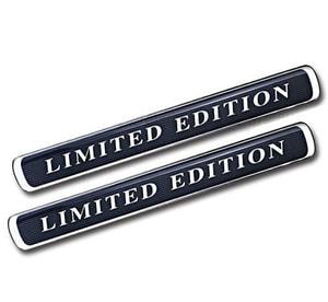 Tem chữ Limited Edition dán xe ô tô ms-104