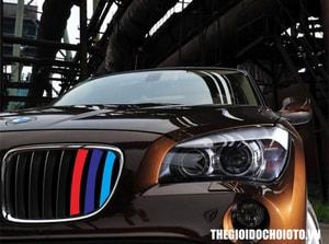Tem dải 3 màu dán phong cách BMW MS-68