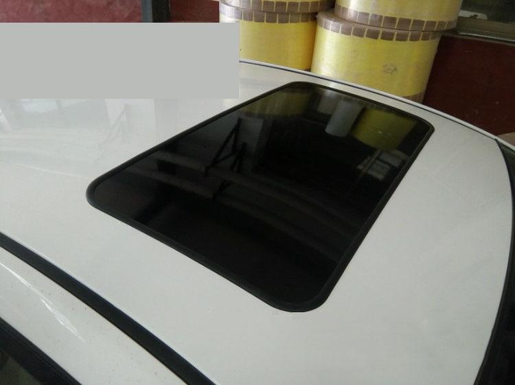 Tấm decal dán giả cửa sổ trời trang trí ô tô