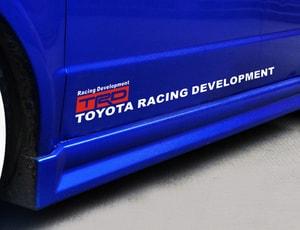 Dải tem dán sườn xe TRD toyota racing development  ms-338