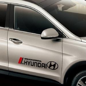 Dải tem dán sườn xe ô tô Hyundai ms-339