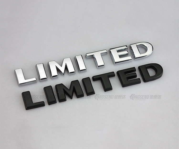 Tem Decal chữ 3d Limited cao cấp