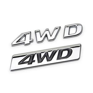 Tem Decal Logo 4wd dán xe ô tô MS-110